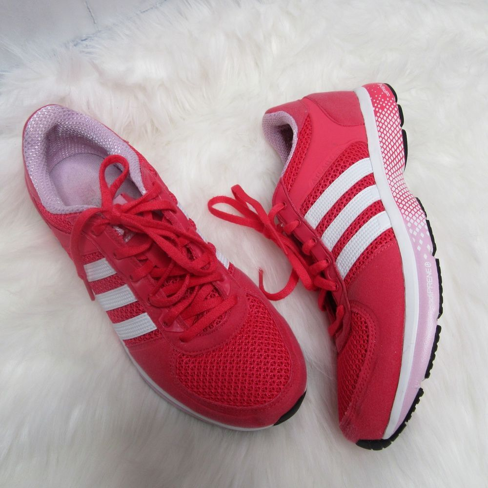 Adidas Atlanta 11 Ladies Running Shoes Pink Athletic Sport Women