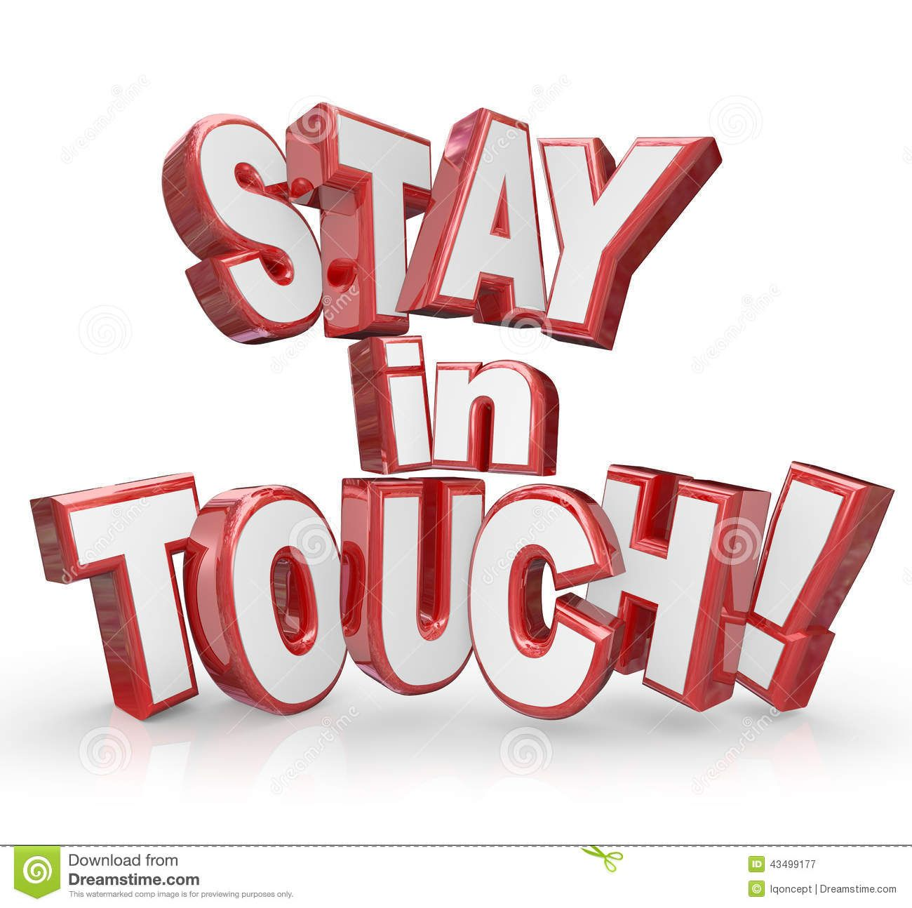 Stay touch red letters keep communicating updates stock formal stay touch red letters keep communicating updates stock formal business letter format templates amp examples template thecheapjerseys Gallery