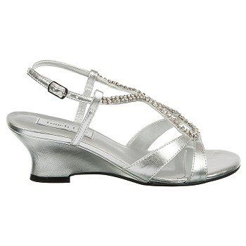 Touch Ups By Benjamin Walk Women S Regina At Famous Footwear Silver Wedding Shoes Evening Shoes Shoes