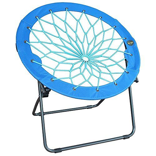 Round Bungee Chair Red Folding Comfortable Lightweight Portable Indoor  Outdoor Use