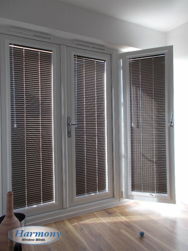 Venetian Blinds On Patio Doors