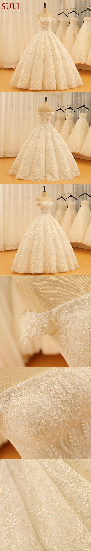 Sl vintage bohemian bridal dresses ball gown wedding dresses