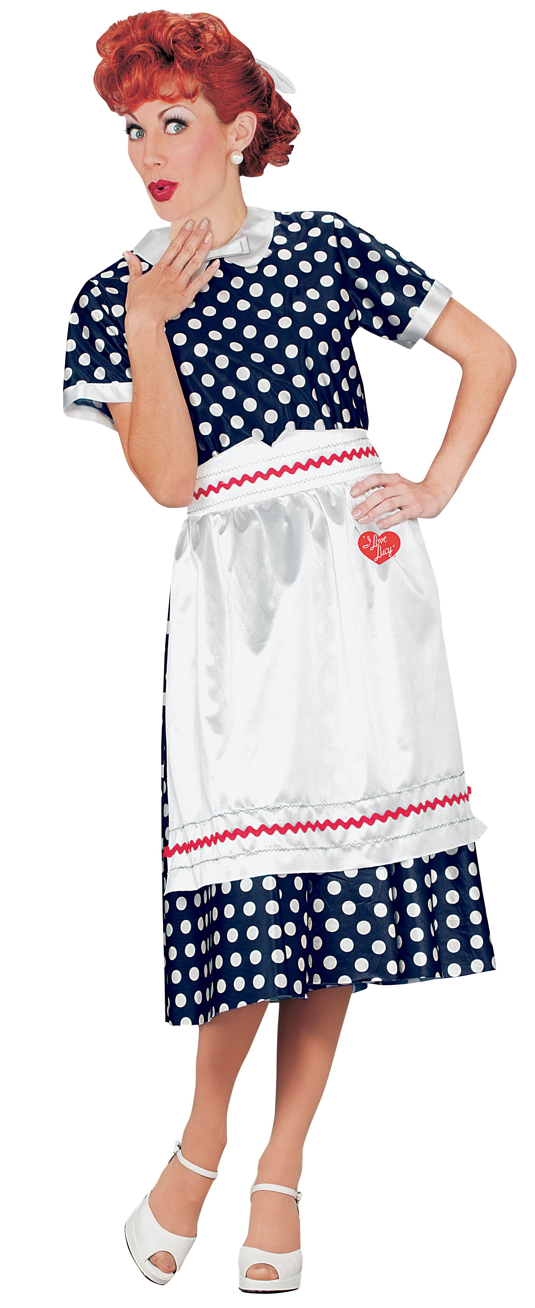 I Love Lucy 1950s Costume Dress  sc 1 st  Pinterest & I Love Lucy 1950s Costume Dress | Retro costume Costume dress and ...