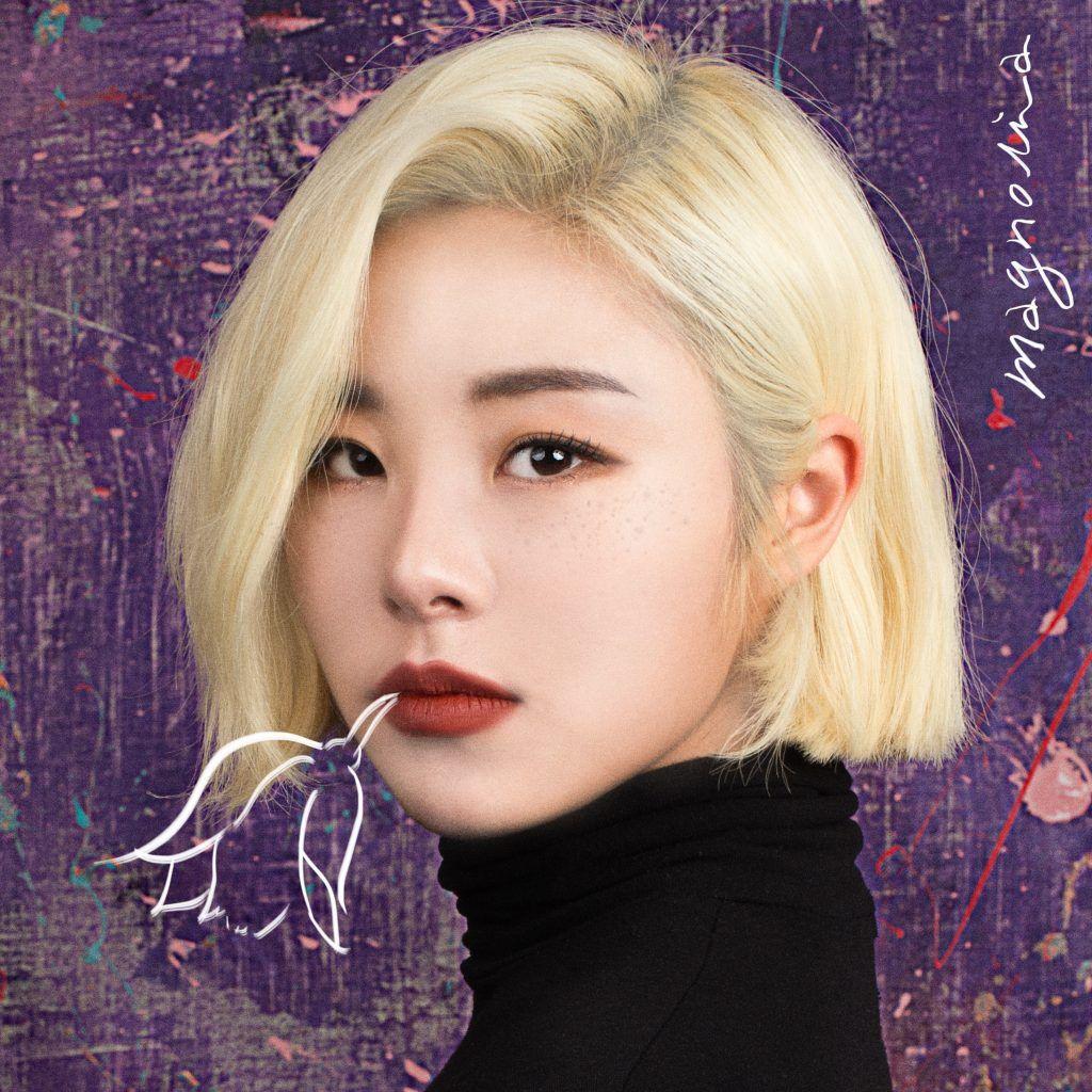 Wheein Magnolia Album Cover Wheein Mamamoo Mamamoo Short Hair Styles