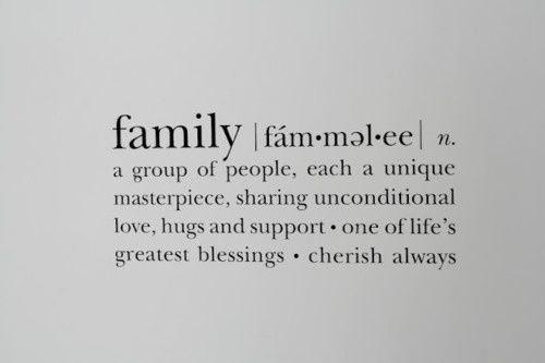 Family That Is Exactly What I Always Thought However My Family