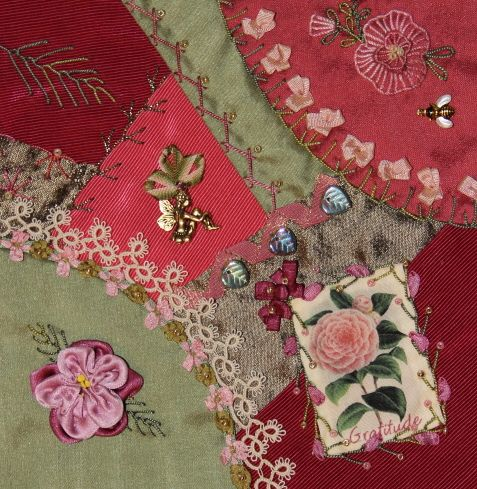 The Pink Bunny online crazy quilt supplies store