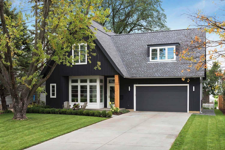 Beautiful Modern Home In Minnesota With Scandinavian Influences Gray House Exterior House Exterior Exterior Design
