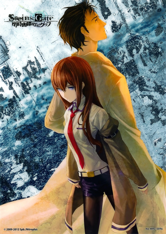 Steins Gate Novel Cover アニメファンアート アニメファン アニメ