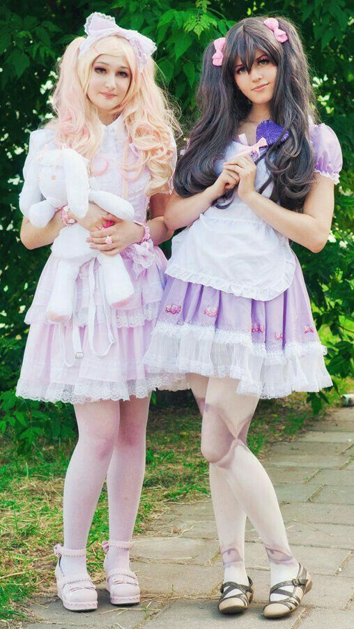 lolita french satin adult pink sissy maid long cosplay