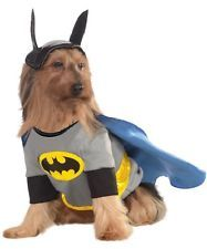 Pet Dog Cat Batman Superhero Halloween Clothing Fancy Dress