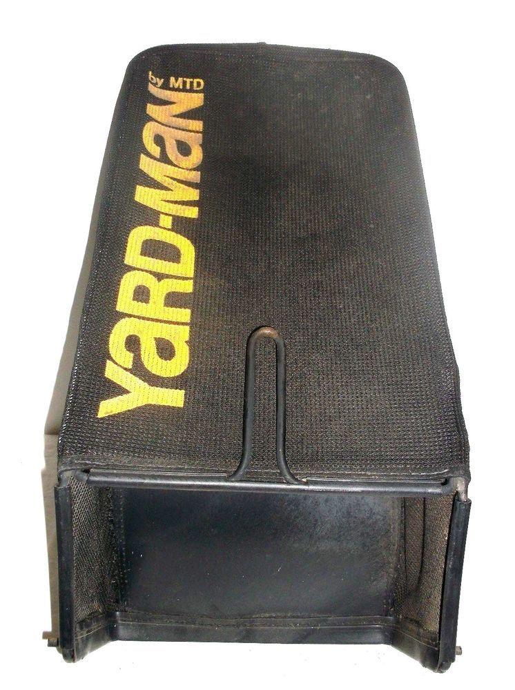 MTD Troy-Bilt Yard-Man Lawn Mower Grass Catcher Bag With Frame Black ...