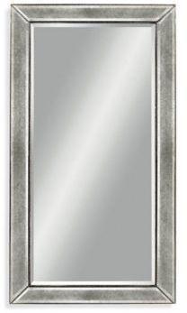 Bassett Mirror Company 36 Inch X 48 Inch Beaded Mirror In Silver Leaf Bed Bath Beyond Beaded Mirror Bassett Mirror Mirror 36 x 48 framed mirror