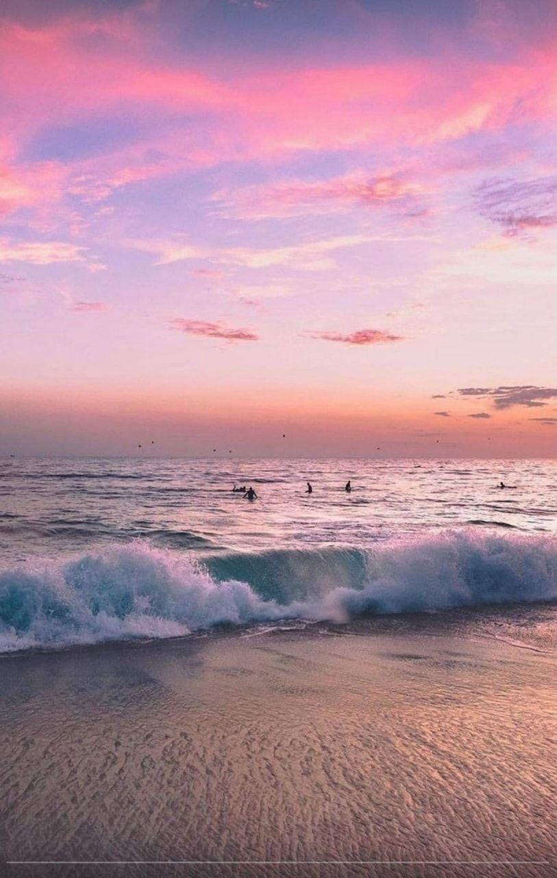 Pin Heatherdelamorton Sunset Wallpaper Ocean Wallpaper Nature Photography