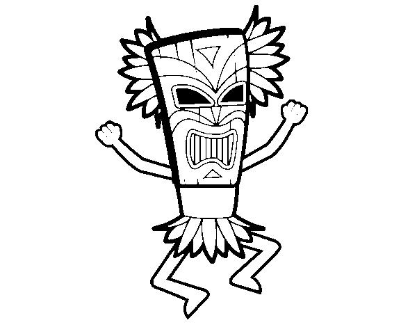Dioses Mayas Imagenes Dibujo De Dios Maya Para Pintar Y Colorear En Linea Dibujos Tumblr Dibujos Angeles Para Colorear