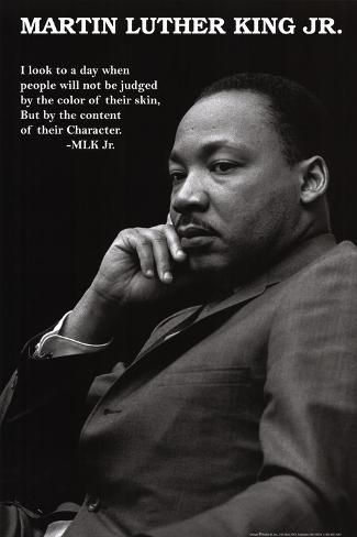 Poster: Martin Luther King Jr. - Character, 36x24in.