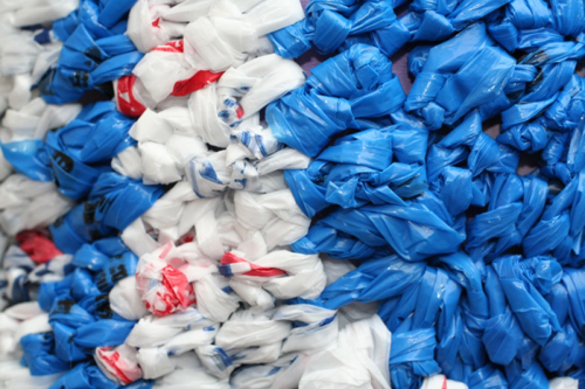 12 Ways To Up-cycle Plastic Bags