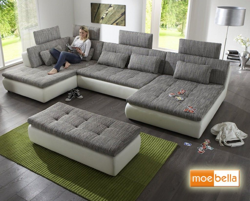 Big Sofa Mit Schlaffunktion Big Sofa Mit Bettfunktion Test Family Room In 2018 Pinterest