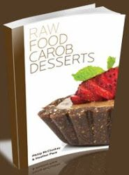Raw food carob desserts raw pinterest quiches red peppers raw food carob desserts recipes chocolate vegan vegetarian i think i might want these books forumfinder Images