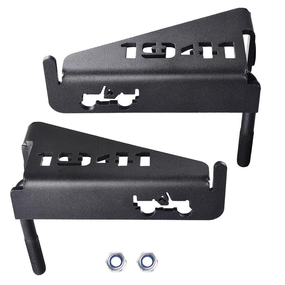 Fits 2007 2016 Jeep Wrangler Jk Without Doors Iconic 1941 Pattern Designed To Fit Lower Door Hinge Pin 2x Foot Pegs 2x Screws Provides A Jeep Wrangler Jk