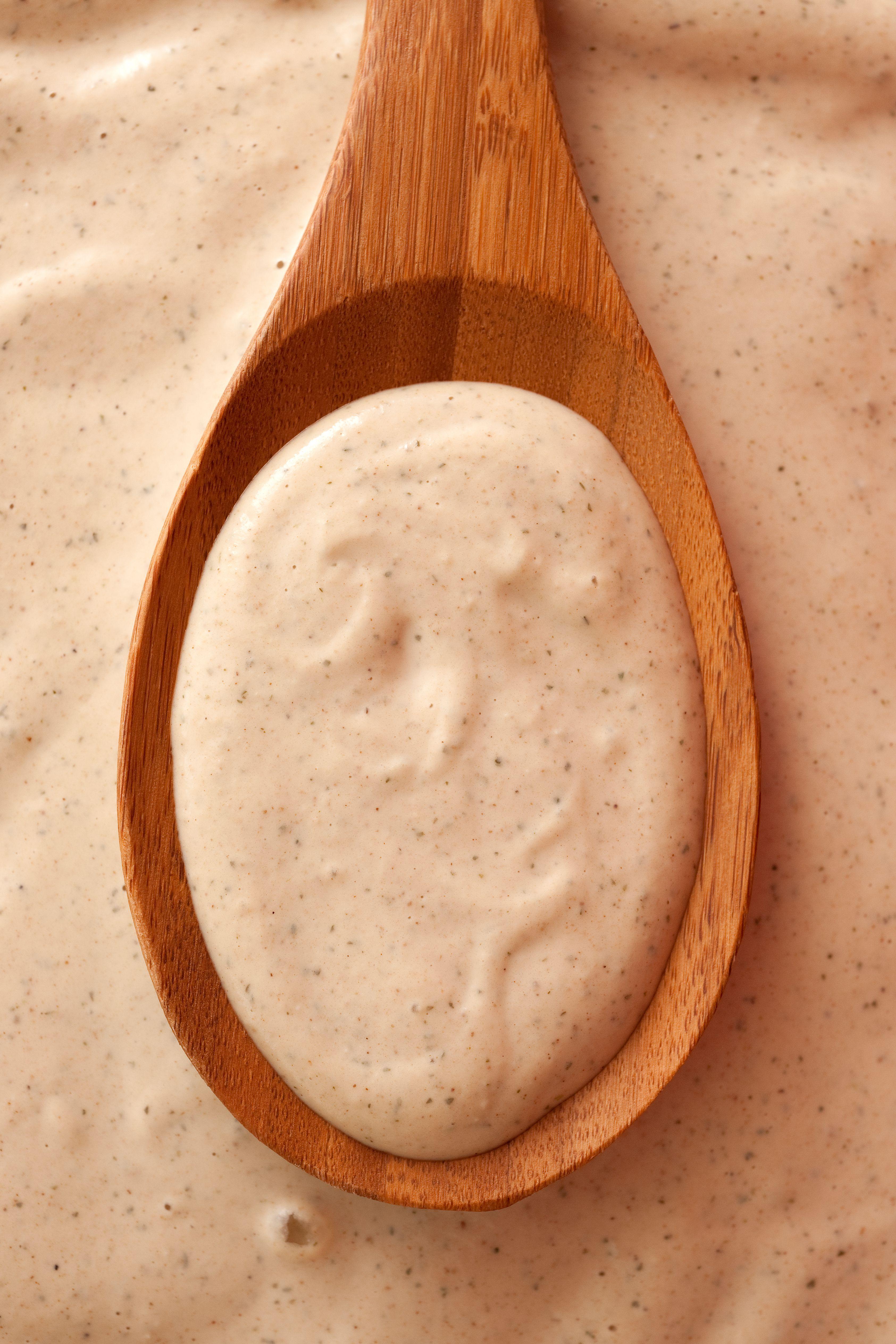 Tarator Sauce Recipe Sauce recipes, Tahini, Tahini sauce