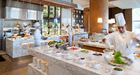 Kitchen Workshop Buffet