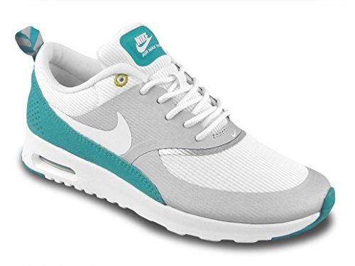 Wmns Nike Air Max Thea Wolf Grey Geyser Grey Blue 599409
