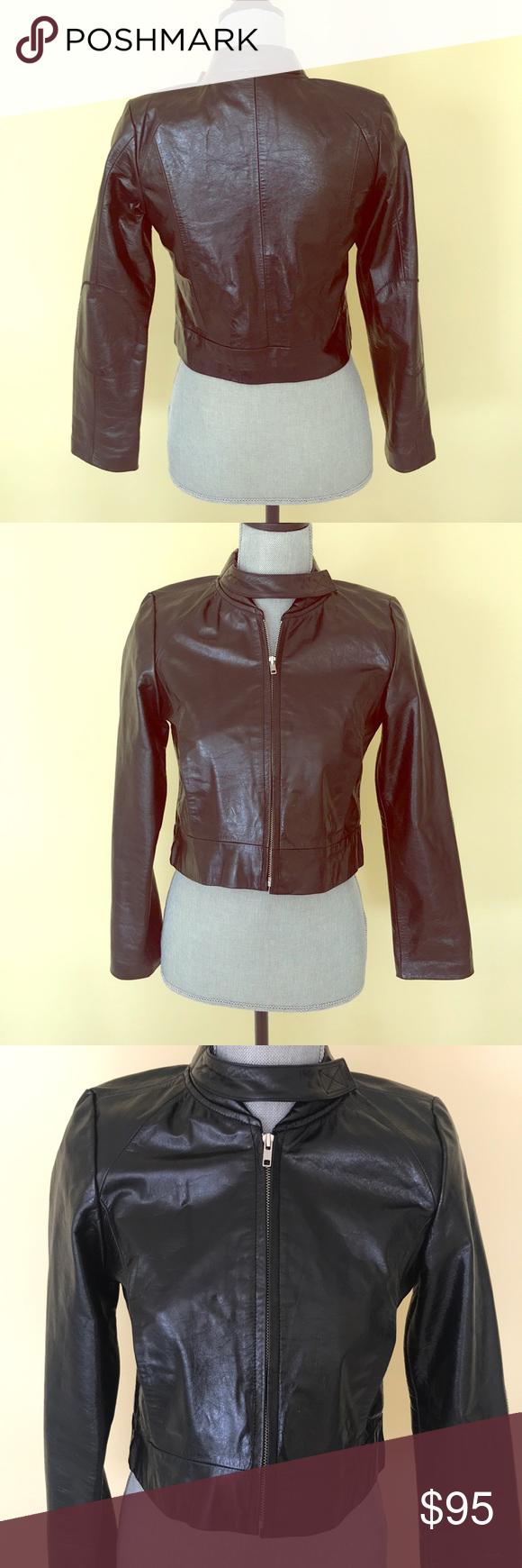 Dkny Girl S Leather Jacket Leather Jacket Girl Leather Jacket Jackets [ 1740 x 580 Pixel ]