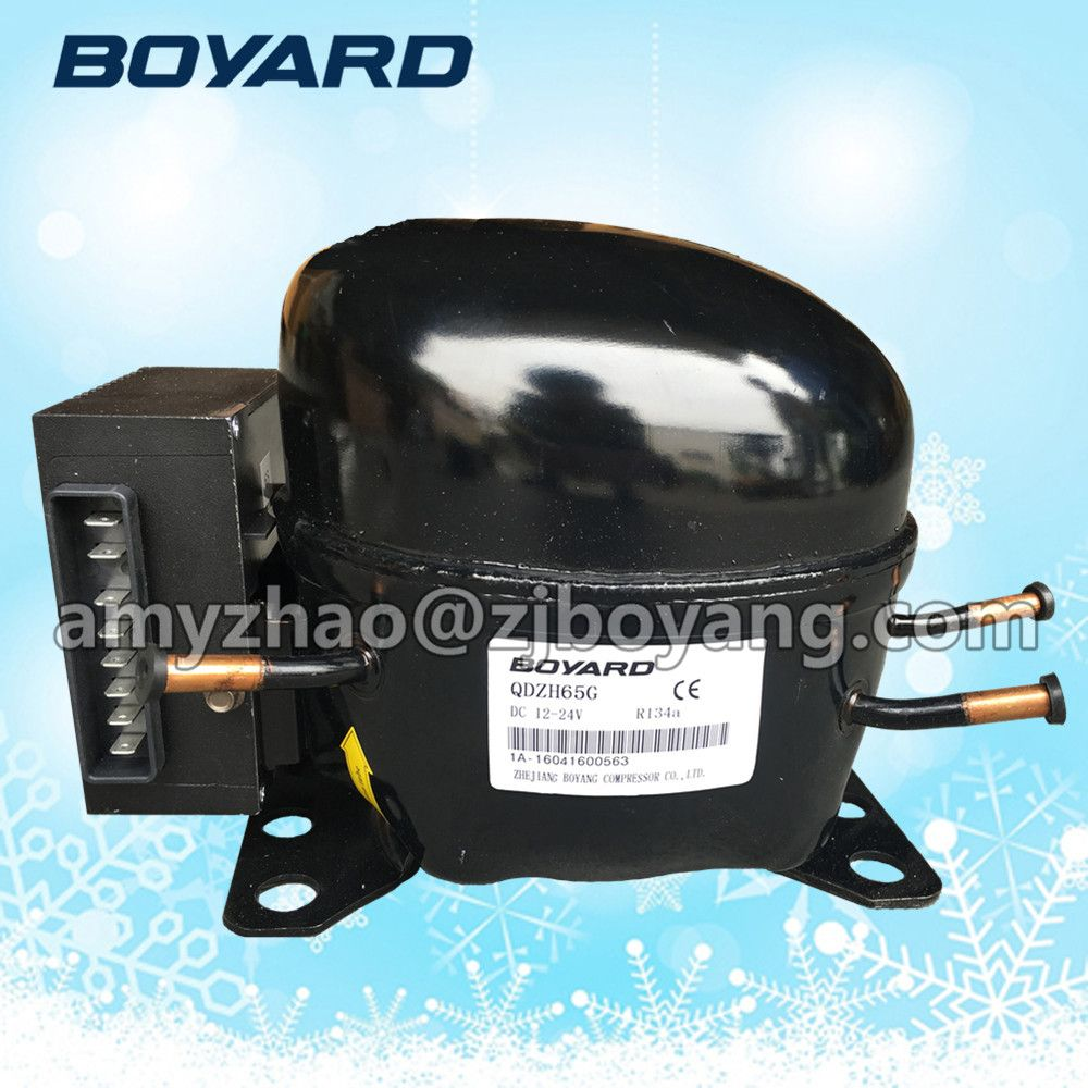 BOYARD 12v dc fridge compressor for solar beverage cooler