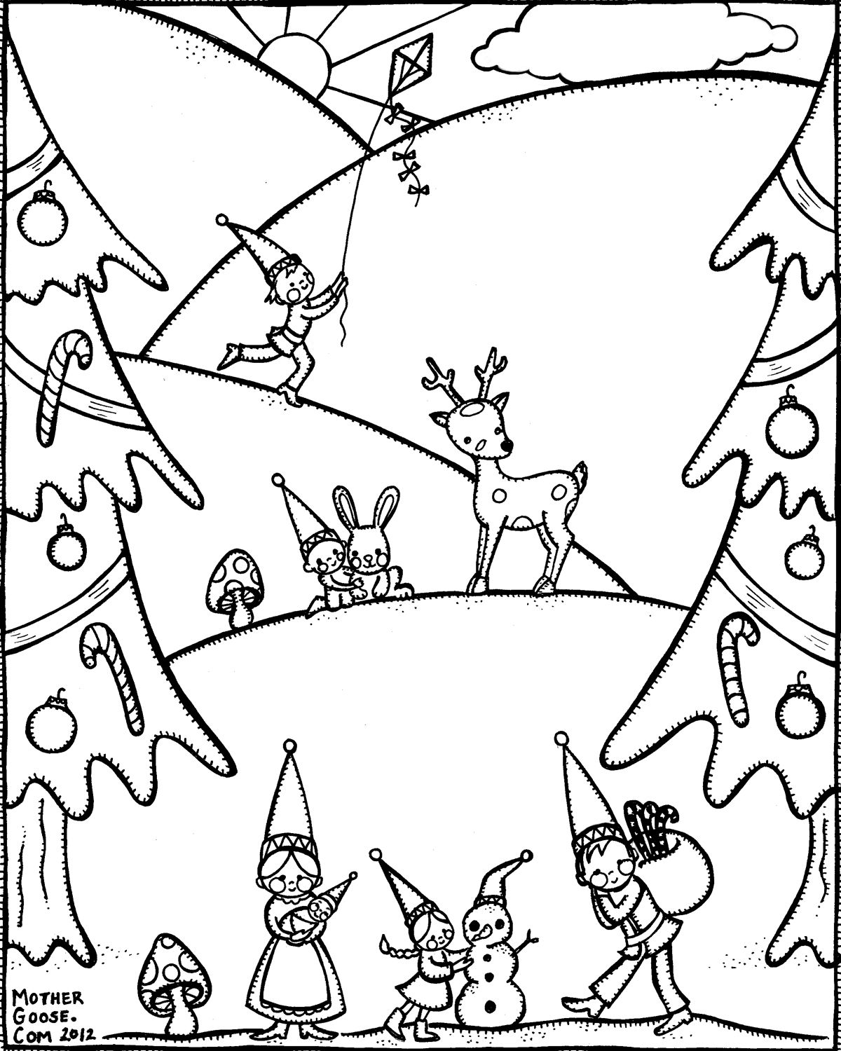 holiday-winter-gnome-family-coloring-pages-printable-winter-coloring ...