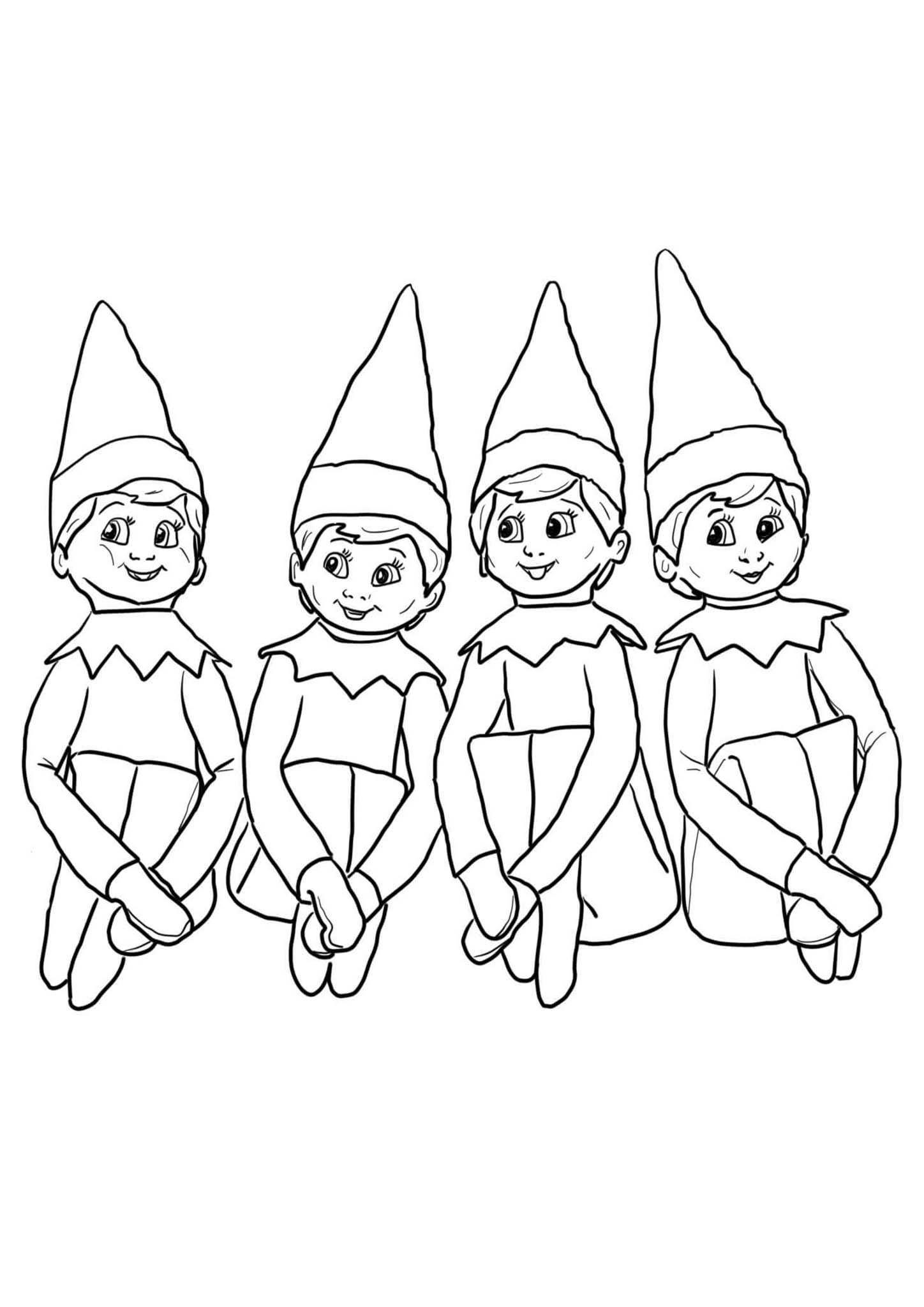 Free Printable Elf On The Shelf Coloring Pages Valentines Day Coloring Page Coloring Pages Christmas Coloring Pages