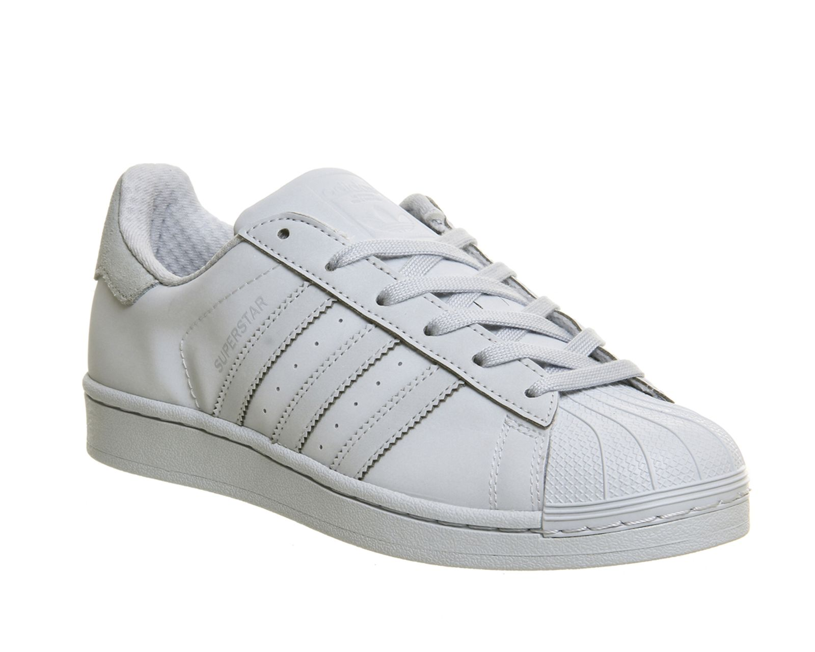 adidas superstar black and white office