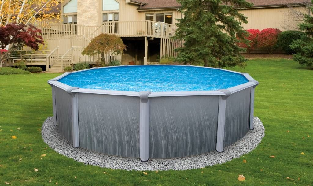 Above Ground Pool Ideas Backyard awesome aboveground pools 6 40 Uniquely Awesome Above Ground Pools With Decks