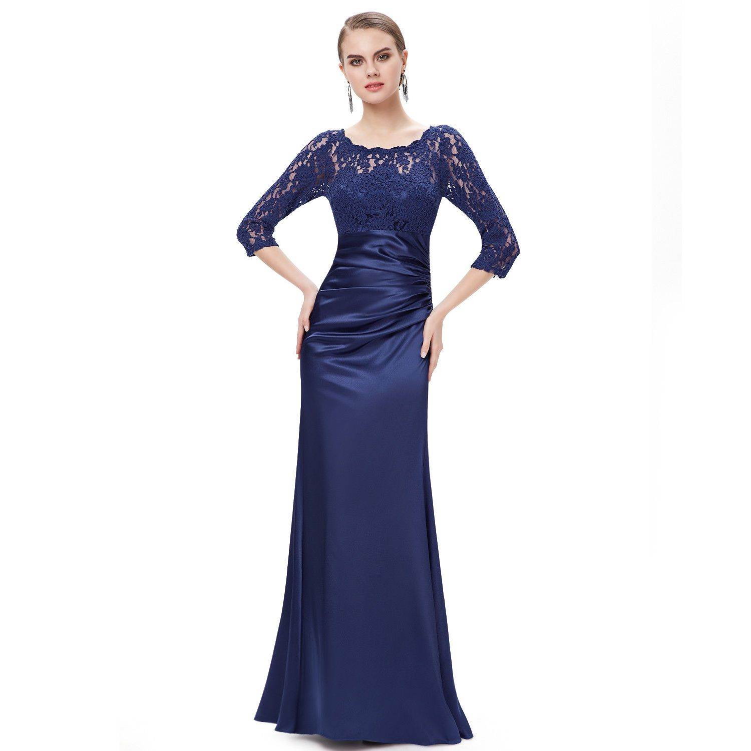 Awesome amazing women elegant evening formal lace party maxi prom