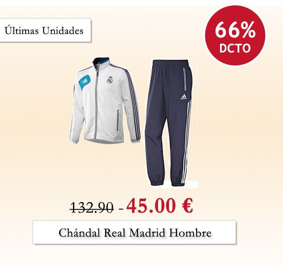 chandal real madrid outlet