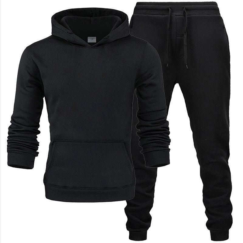2020 Nuevo Conjunto De Dos Piezas De Moda Sudaderas Con Capucha Ropa Deportiva Para Hombres Chndal Con Capucha Ro In 2020 Mens Outfits Cheap Hoodies Sweatshirts Hoodie