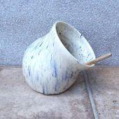 Salt pig or cellar hand thrown terracotta pottery handmade ceramic wheelthrown -... - #cellar #ceramic #Hand #handmade #pig #Pottery #Salt #Terracotta #thrown #wheelthrown