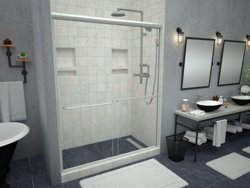 Bathroom:Pleasing Easy Shower Pan Installation Also Shower Pan Installation  Fiberglass Prevent Damage And Leaks