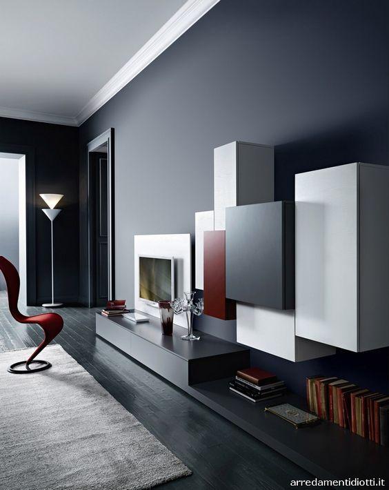 Tetris Style. | soggiorno | Pinterest | Pensili, Soggiorno e ...