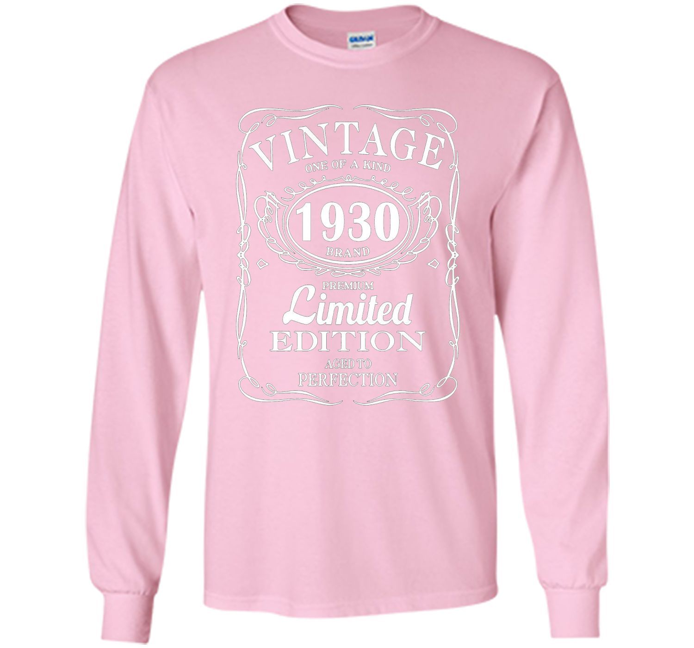 Born in 1930 Tshirt 87th Birthday 87 Years Gift