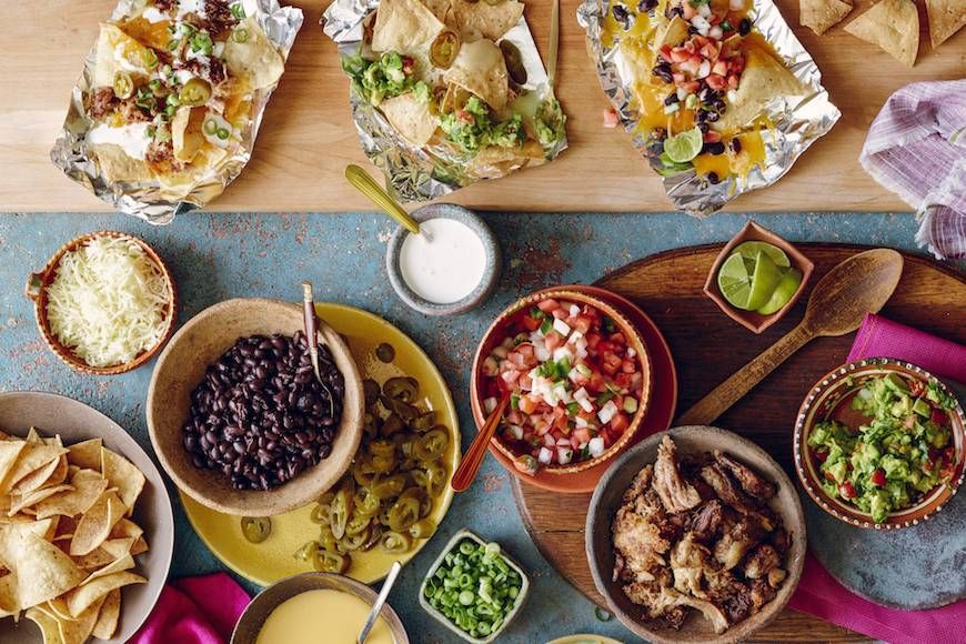 Nacho Bar - What's Gaby Cooking