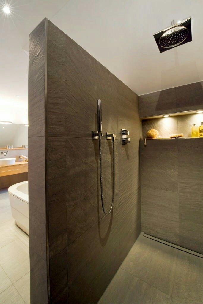Pin von Karen Tabor auf New house Dusche ohne türen