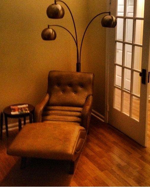 Midcentury Modern Chaise
