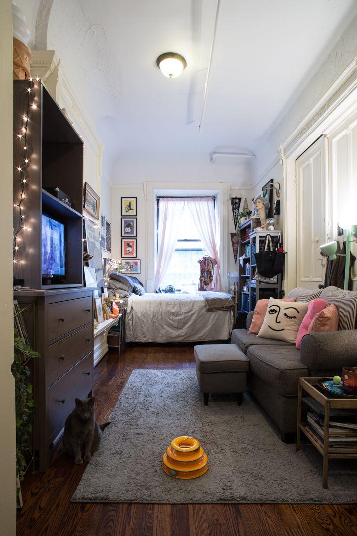IMG_7043.jpg | Studio apartment decorating, Cozy studio ...