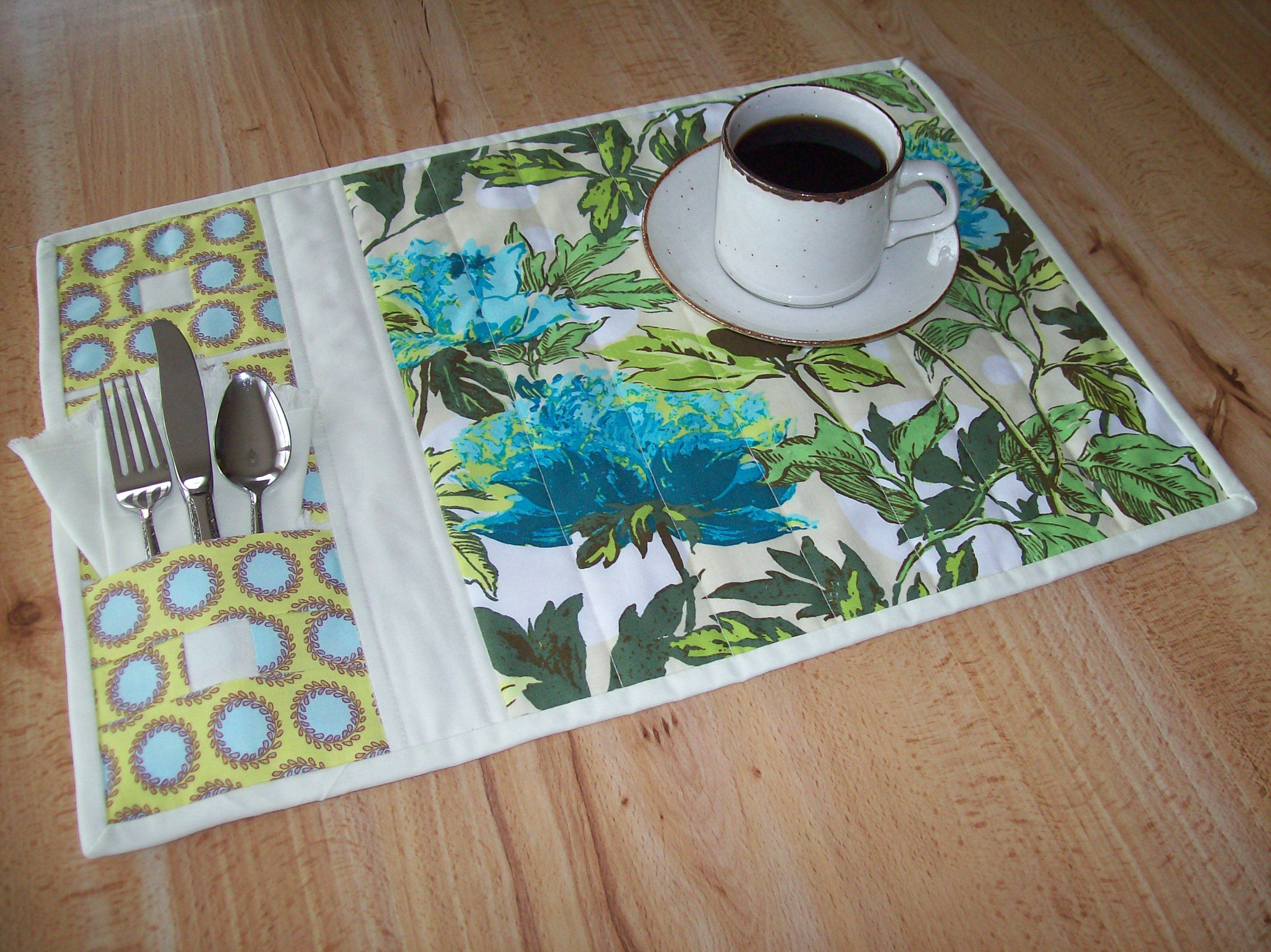 Free Placemat Patterns To Quilt An Easy Project Quilted As You Sew