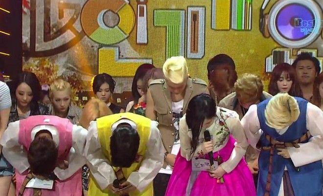 K Pop Idols Bow Down In Memory Of Eunb And Rise Kpop Idol Kpop Idol