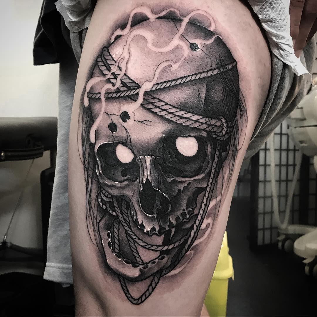 Tattoo Ideas Magazine: แบบสักหัวกระโหลก
