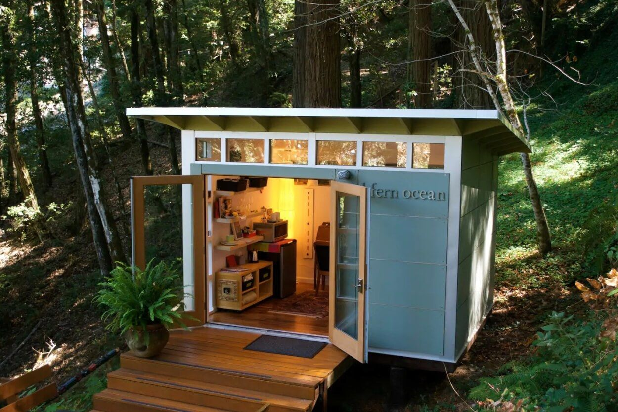 Studio Cabin in the California Redwoods Tiny houses for