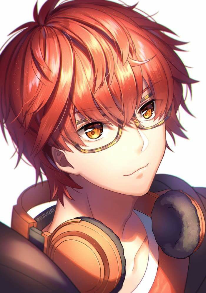 707 Seven Mystic Messenger Cute Anime Boy Otome Game Mystic Messenger Mystic Messenger 707 Seven Mystic Messenger