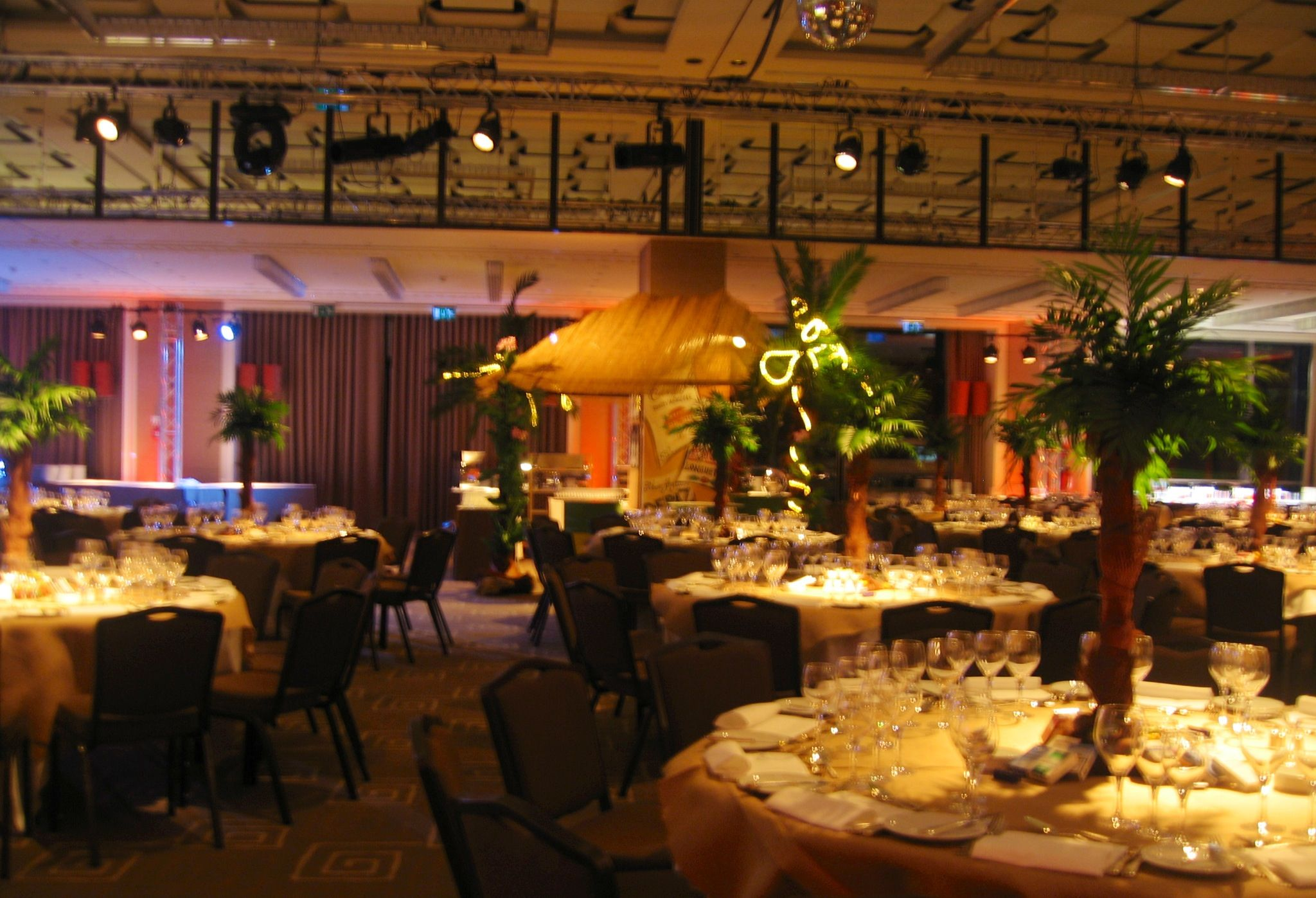Gala Diner At InterContinental Geneva.  Havanna Nights Theme.
