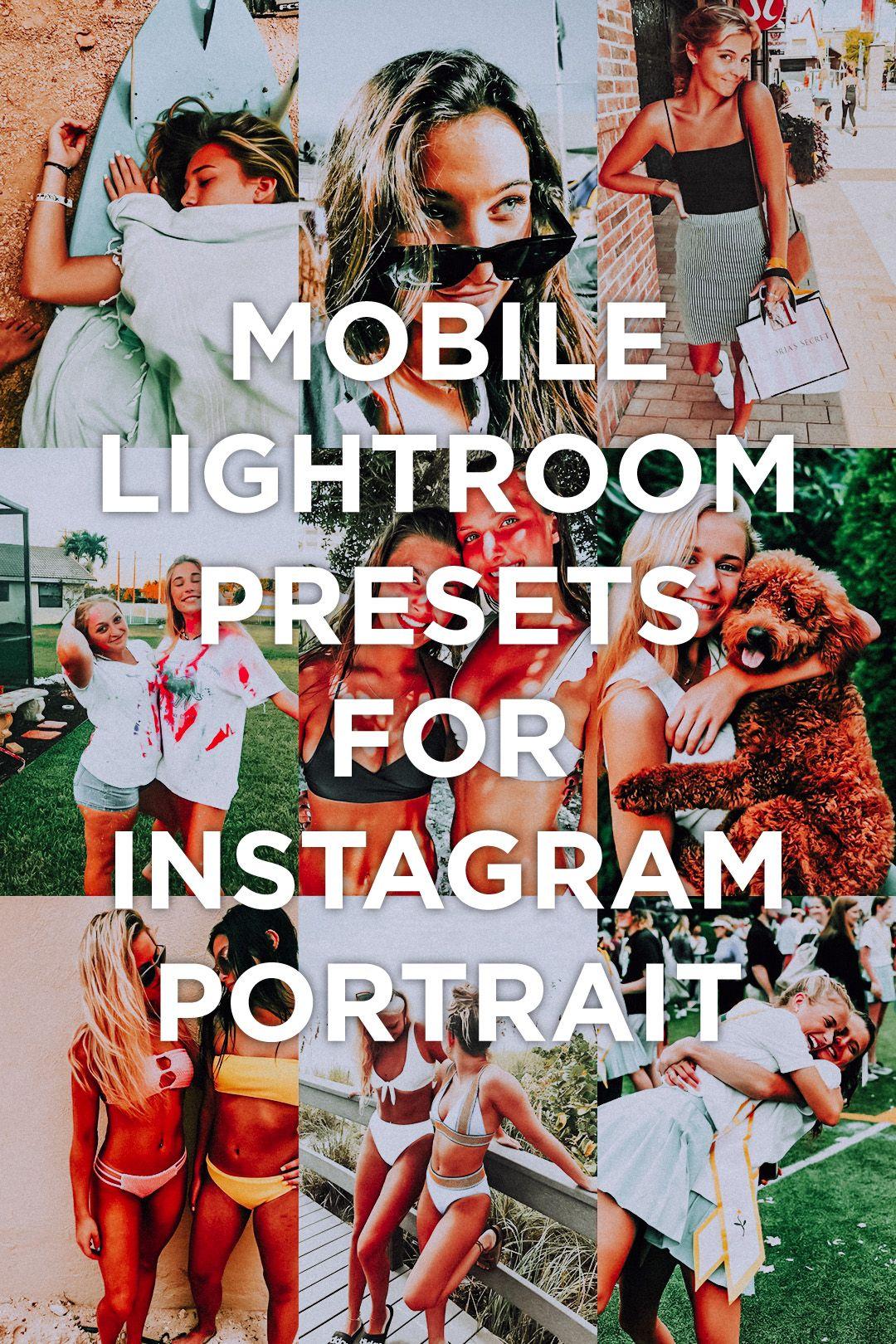 7 mobile lightroom presets brighton blur background in